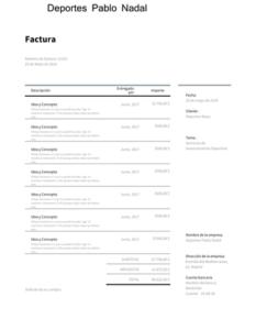 plantilla simplificada servicios